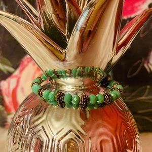 Alex + Ani Nature's Gem Wrap Bracelet